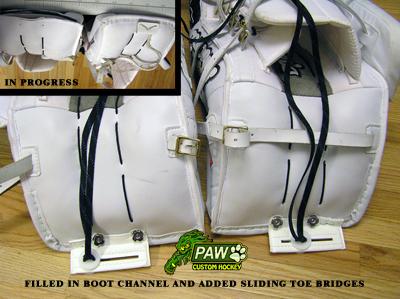 stuffed boot channel