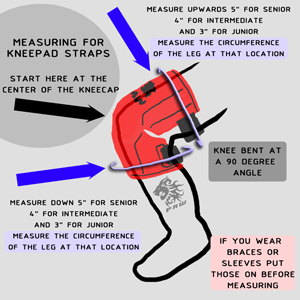 measuring for kneepads